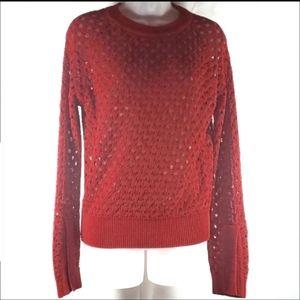 Zara Open Knit Sweater NWT